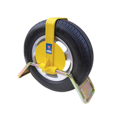 Bulldog QD44 Wheel Trailer Security Trailclamp