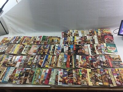 Lot of 280 - Cookbooks (Mixed years, Pamphlet, Box #6) Recipes, Recipe