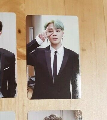 BTS Memories of 2018 DVD JIMIN Photocard