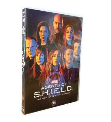 Agents of S.H.I.E.L.D. Season 6 (DVD ,3-Disc Set) Brand New Sealed