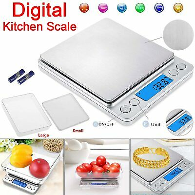 0.01g 500g Electronic Pocket Digital Scales Jewellery Gold Weighing Mini LCD