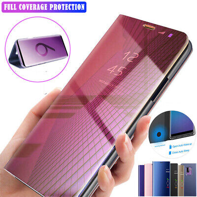 360° Full Protective Mirror Clear View Case Cover for Samsung Galaxy Note10 Plus