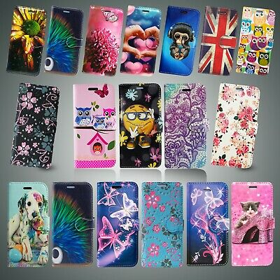 Leather Wallet Flip Book Card Slot Phone Case Cover For Samsung Galaxy A50 &Many