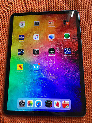 "Apple iPad Pro 64GB, Wi-Fi (Unlocked), 11"" Tablet - Space Grau Restgarantie"