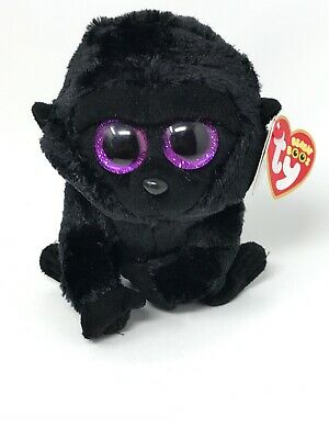 Authentic Ty Beanie Boo ZURI the monkey 6 inch size New and Mint with tags!