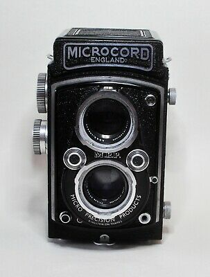 M.P.P Microcord TLR With 77.5mm F3.5 Xpres Lens  + Leather Case