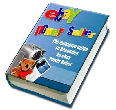 eBay Powerseller Guide PDF eBook with Private Label Rights PLR