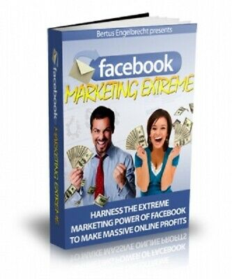 Facebook Marketing Extreme PDF eBook with Master Resell Rights MRR