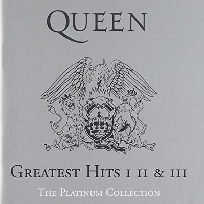 Queen The Platinum Collection: Greatest Hits I, II & III