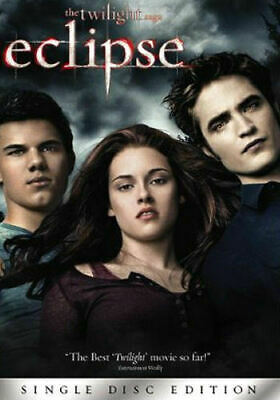 The Twilight Saga: New Moon (DVD, 2010, 3-Disc Set, Deluxe Edition) **FREE S/H**