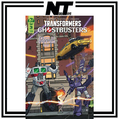Idw Transformers Ghostbusters Ghosts Of Cybertron  #3 (Of 5) Cvr A Schoening