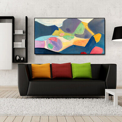 VV753 Modern Large 100%Hand-painted abstract painting on canvas Wall Decoration