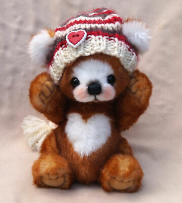 "A.S.Bears  "" Romeo ""  OOAK 7 inches Small Artist Bear"