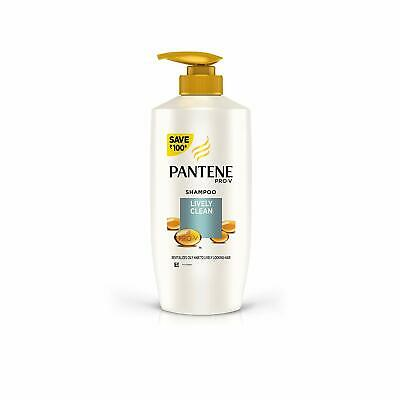 Pantene Lively Clean Shampoo Based Test Results Under Laboratory Condition 675ml
