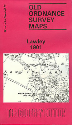 Old Ordnance Survey Map Lawley 1901
