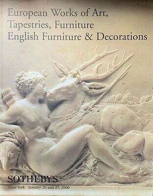 Sotheby's European Works Of Art Tapestries Furniture & Decorations 1/26-27/2000