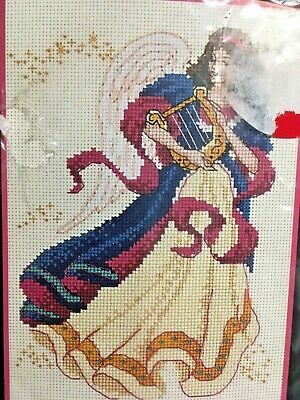 Dimensions Needlecrafts 6911 Patriotic Angel Counted Cross Stitch Kit NEW!