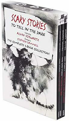 SCARY STORIES TO TELL IN THE DARK Box Set: The Complete 3 Book Collection