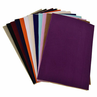 DIY Velvet Flocking Fabric Cloth Sewing Liner Jewelry Drawer Contact Multicolour