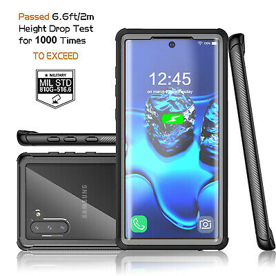 For Samsung Galaxy Note 10 Plus Shockproof Case Cover Built in Screen Protector