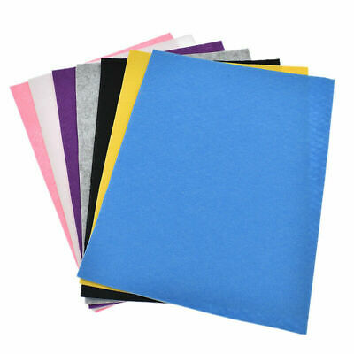 A4 Sheet Self Adhesive Felt Fabric Leather DIY Material Sewing Accessories Craft