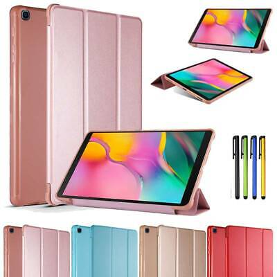 """Slim Leather Tablet Case Cover For Samsung Galaxy Tab A 10.1"""" 2019 SM-T510 T515"""