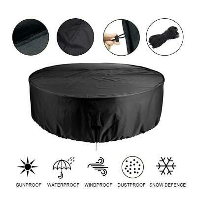 Waterproof Large Round Outdoor Garden Patio Table Chair Set Furniture Cover New