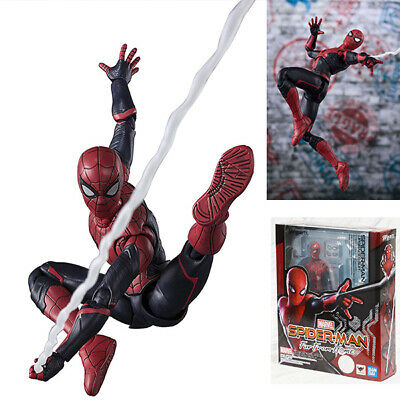 Bandai S.H.Figuarts Spider-Man Far From Home Spider Man Upgrade Suit Figure SHF