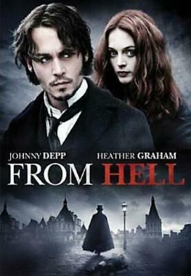 FROM HELL (Region 1 DVD,US Import,sealed.)