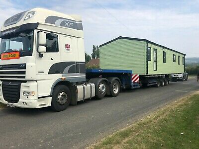 Mobile Home, Static Caravan, Twin Unit, Chalet, Transport, Delivery, Own Escort.