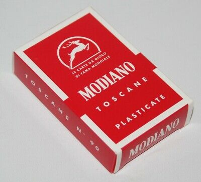 Modiano - Toscane - Italian Playing Cards Deck - Sealed