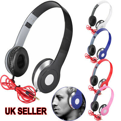 New Generation Over-Ear DJ Headphones Wired Game Earphones For Teens Kids Childs