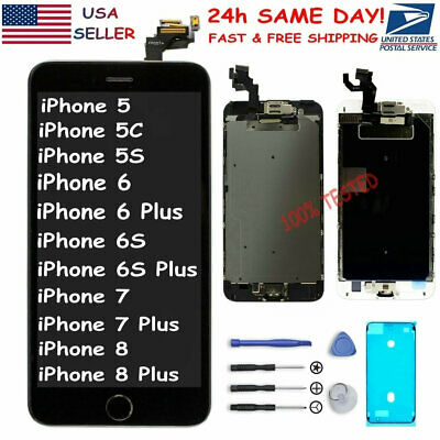 iPhone 6 6S 6P 7 8 Plus LCD Touch Screen Replacement Complete Digitizer Assembly