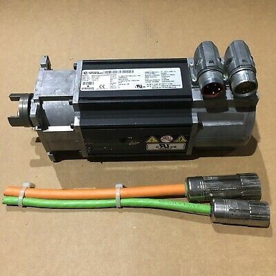 Emerson Unimotor FM Continuous Duty Servo Motor with Connectors