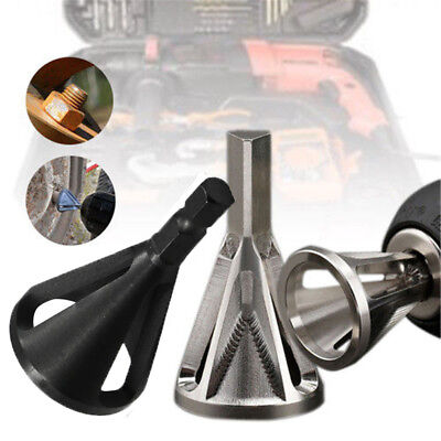 Hot Deburring External Chamfer Stainless Steel Remove Burr Tools for Drill Bit.