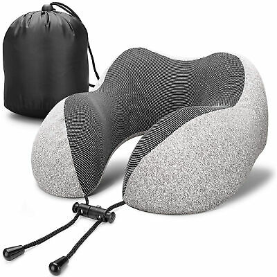 Memory Foam Rebound U Shaped Travel Pillow Car Cushion Neck Support Head Rest US