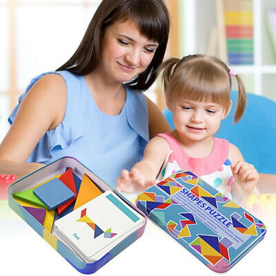 Wooden Shape Puzzle Educational Toy