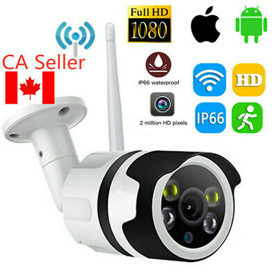 CA 1080P Outdoor Wireless WIFI IP Camera Network Night Vision CCTV Security xcds