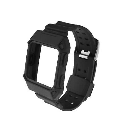 For Fitbit Ionic Smart Watch Band Strap Soft Replacement Wrist Band Frame Case