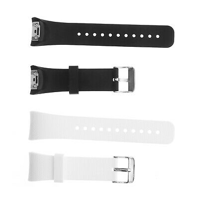 2pcs Silicone Watchband Straps for Samsung Gear Fit2 SM-R360 Fit2 Pro SM-R365