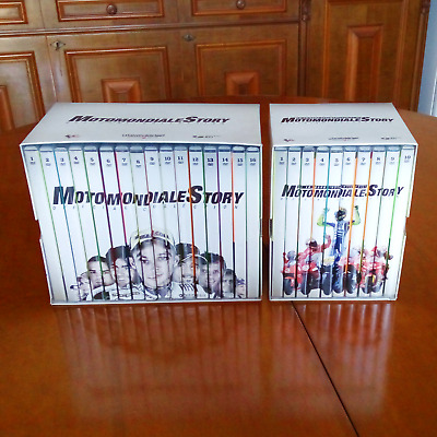 Motomondiale Story Official Collection 2 Box 26 DVD Valentino Rossi Capirossi