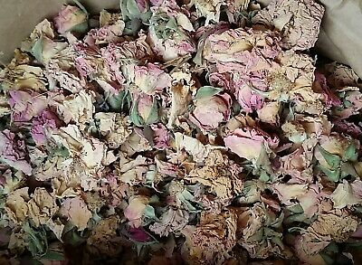 2 kg Rose flowers, pink, whole, ecológico, 91€/kg [n731 xe]