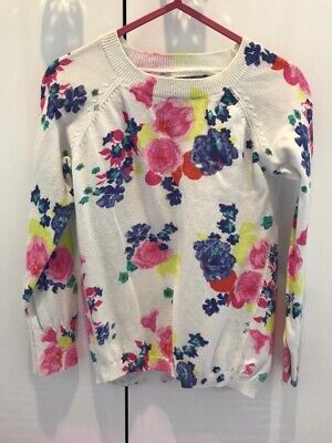 Girls Joules Floral Jumper 5-6yrs