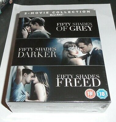 Fifty Shades of Grey Blu ray trilogy new and sealed