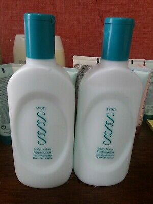 Avon Skin So Soft Body Lotions x2 Brand New RARE and discontinued