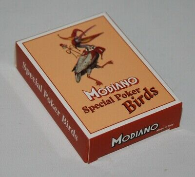 Modiano - Special Poker Birds - Deck of Playing Cards - Sealed