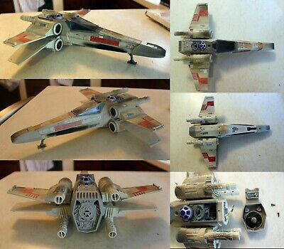 Star Wars Power of the Force: X-Wing Fighter 1995 electronic Kenner loose used