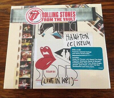 The Rolling Stones - From the Vault: Hampton Coliseum (Live in 1981) DVD/2CD New