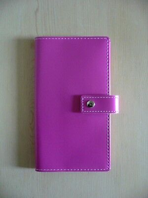 Faux Leather Diary, Memo/Note Book, Journal 80 Lined Sheets BN~Pink~