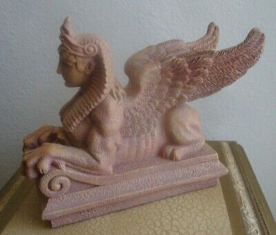 Egypt  Egyptian Pharaohs  Winged Sphinx Figurine Summit